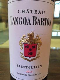 Château Langoa Barton 2014 – Saint-Julien, Grand Cru Classé
