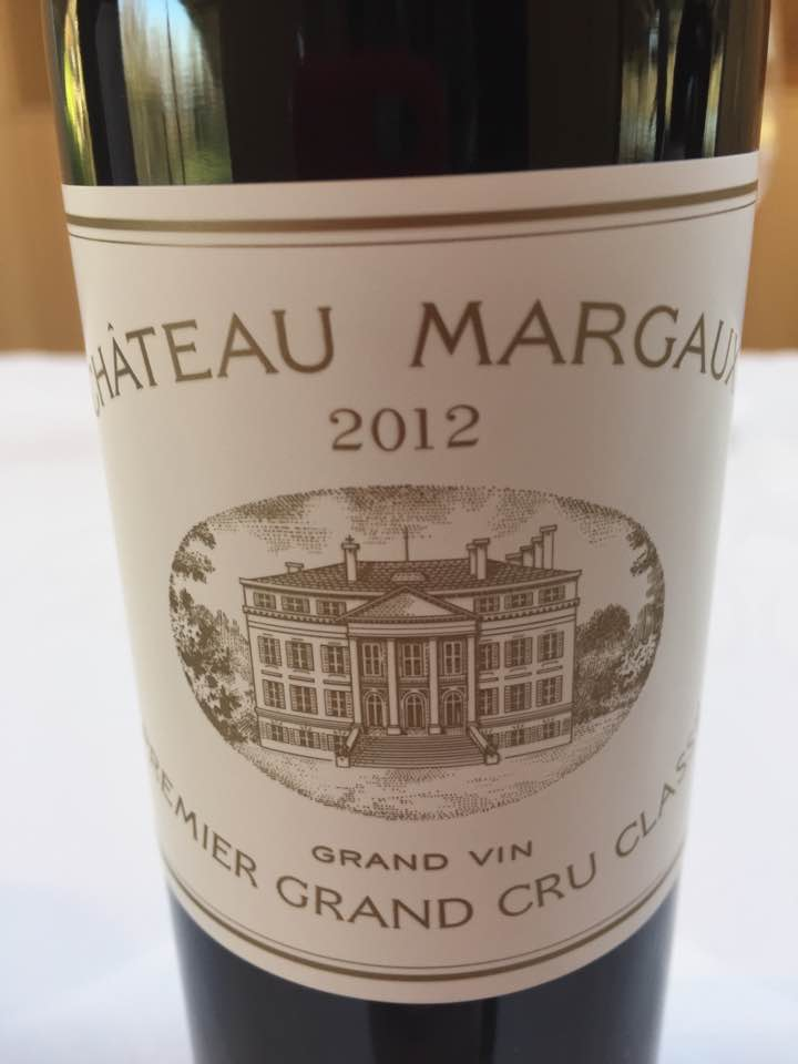 Château Margaux 2012 – Margaux, 1er Grand Cru Classé