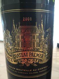 Château Palmer 2008 – Margaux, 3ème Grand Cru Classé