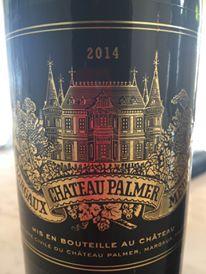 Château Palmer 2014 – Margaux, 3ème Grand Cru Classé