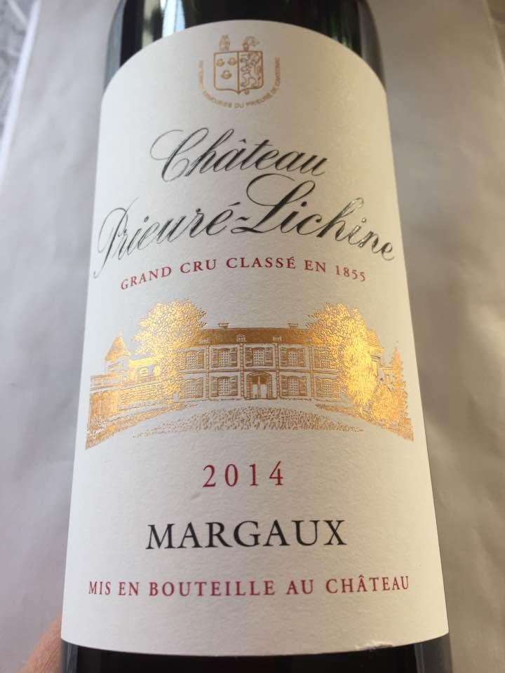 Château Prieuré-Lichine 2014 – Margaux – Grand Cru Classé