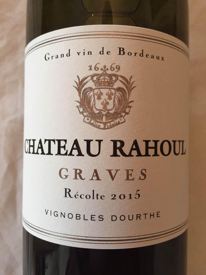 Château Rahoul 2015 – Graves