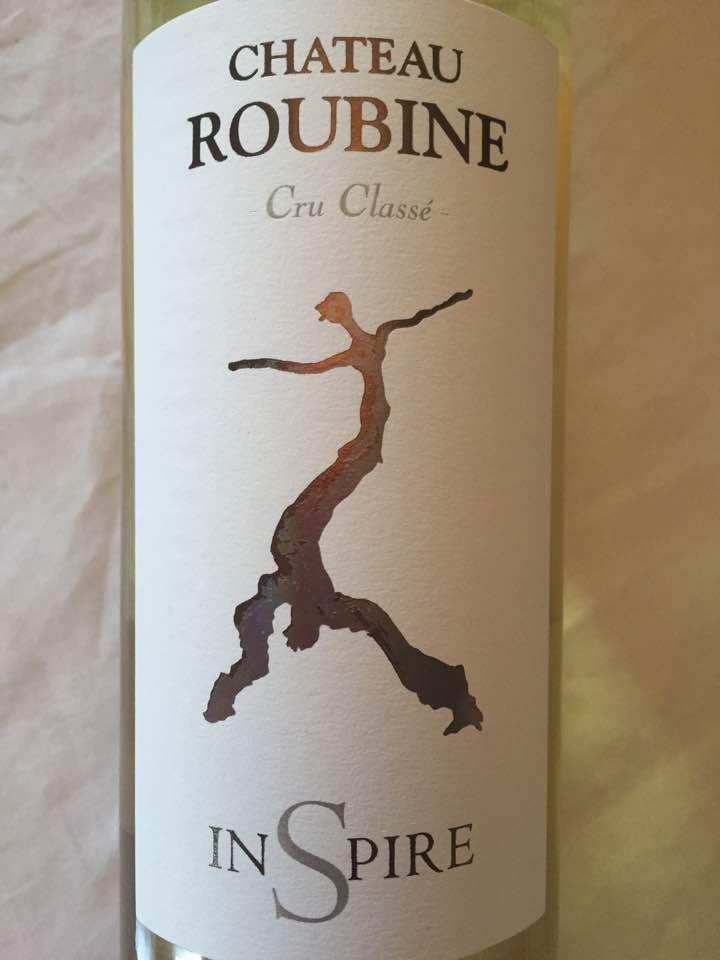 Château Roubine – InSpire 2015 – Côtes de Provence – Cru Classé