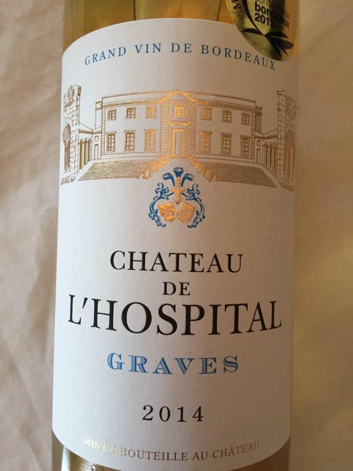 Château de L'Hospital 2014 – Graves