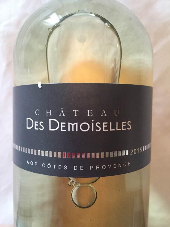 Château des Demoiselles 2015 – Côtes de Provence