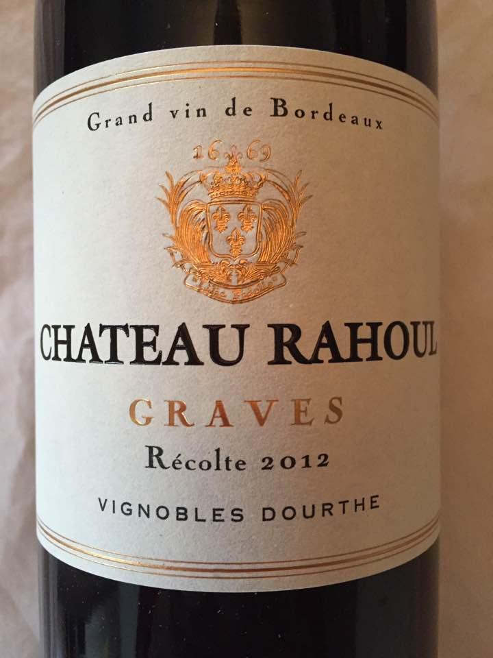 Château Rahoul 2014 – Graves
