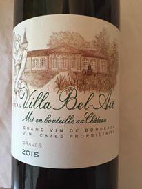 Château Villa Bel-Air 2015 – Graves