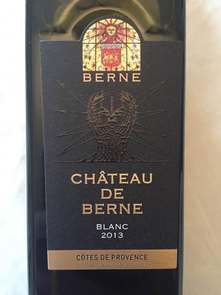 Château de Berne 2013 – Côtes de Provence