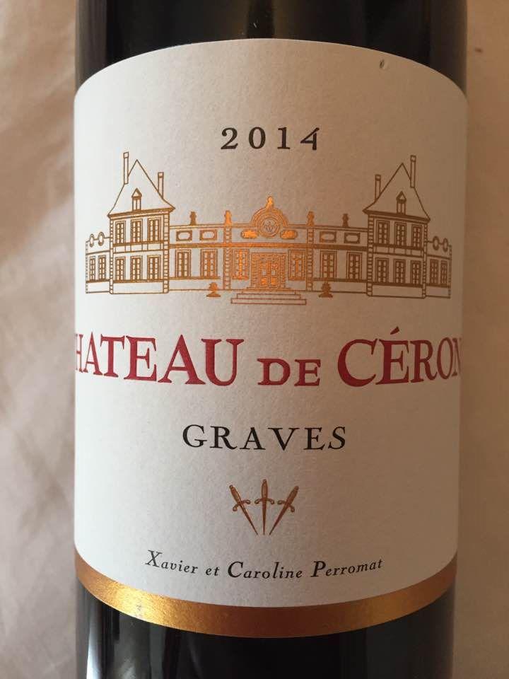 Château de Cérons 2014 – Graves