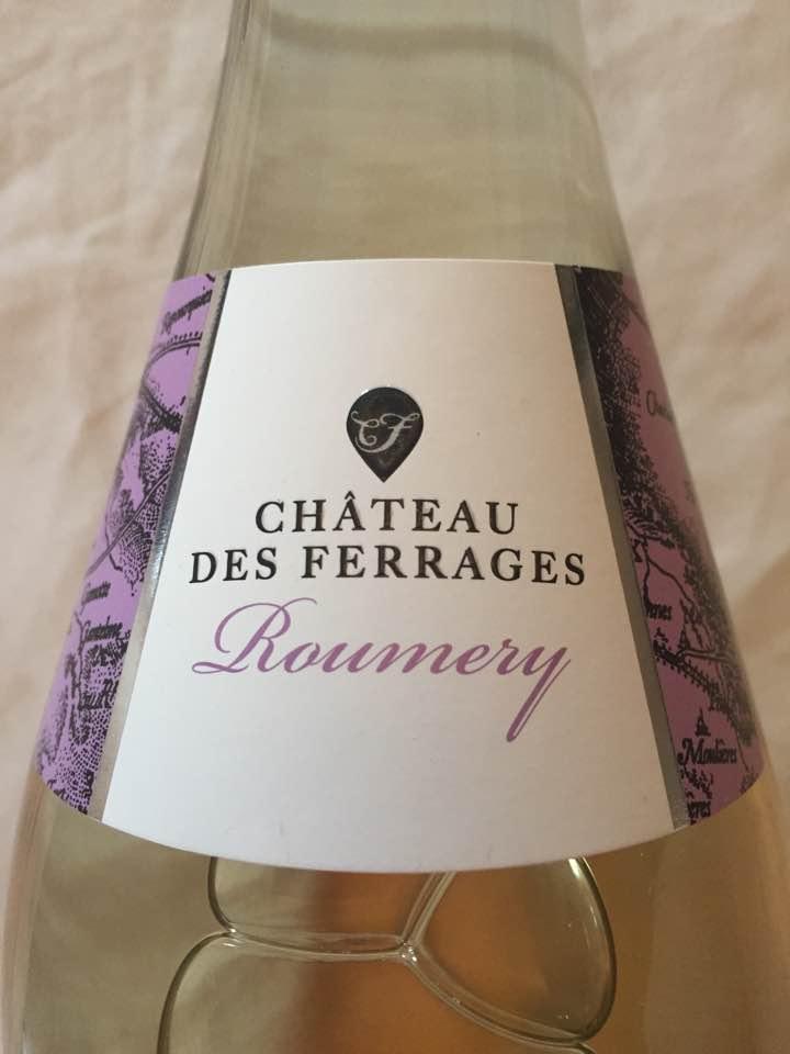 Château des Ferrages – Roumery 2015 – Côtes de Provence