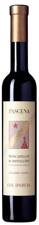 Col d'Orcia – Pascena – Vendemmia Tardiva 2012 – Moscadello di Montalcino