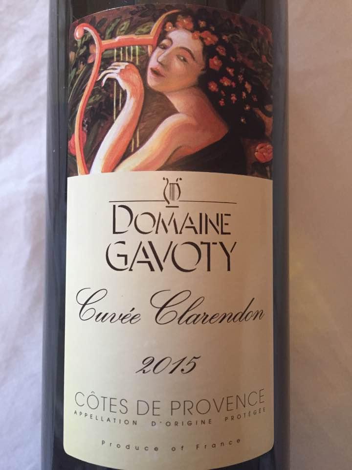 Domaine Gavoty – Cuvée Clarendon 2015 – Côtes de Provence