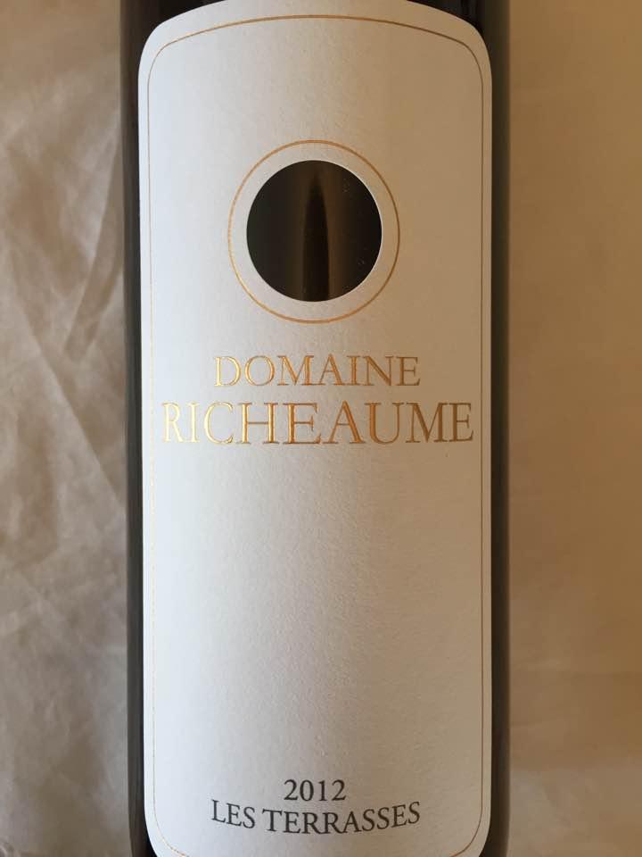 Domaine Richeaume – Les Terrasses 2012 – IGP Méditérranée