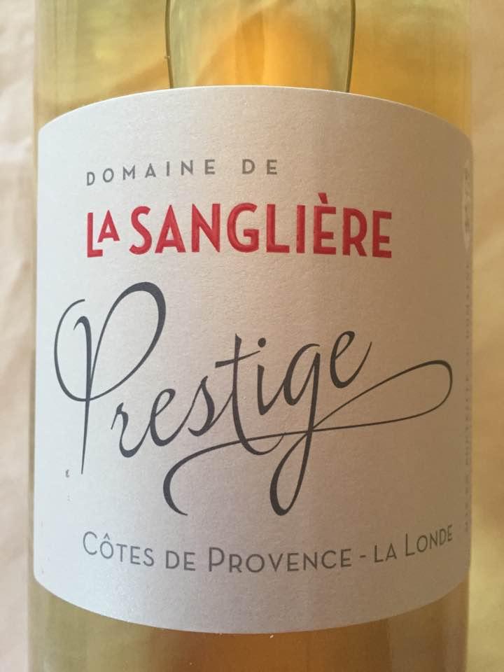 Domaine de La Sanglière – Prestige 2015 – Côtes de Provence