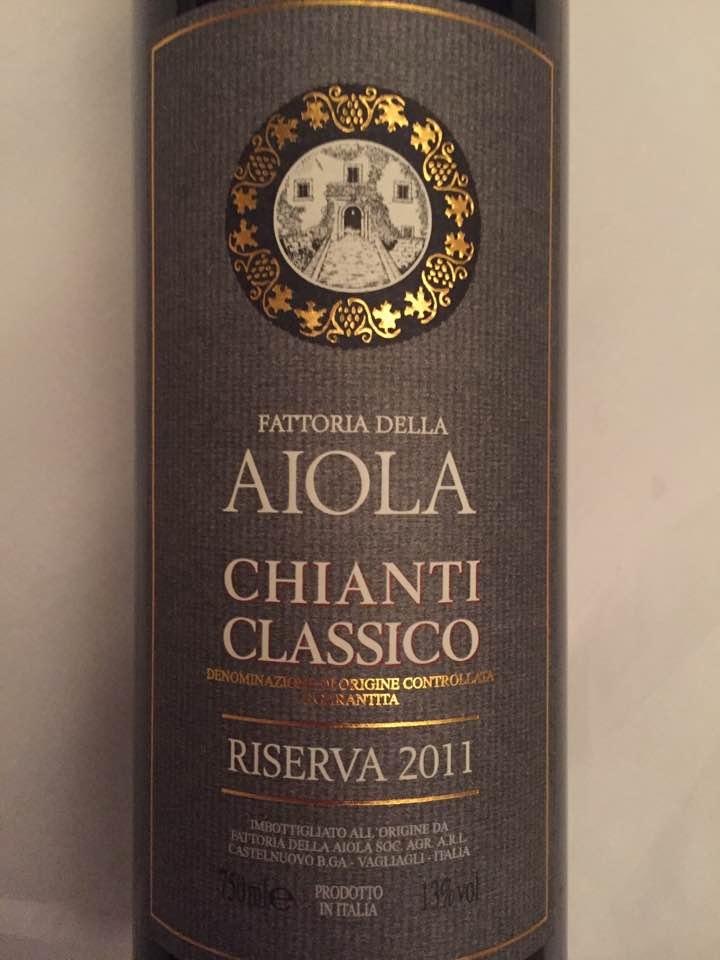 Fattoria Della Aiola 2011 – Chianti Classico Riserva