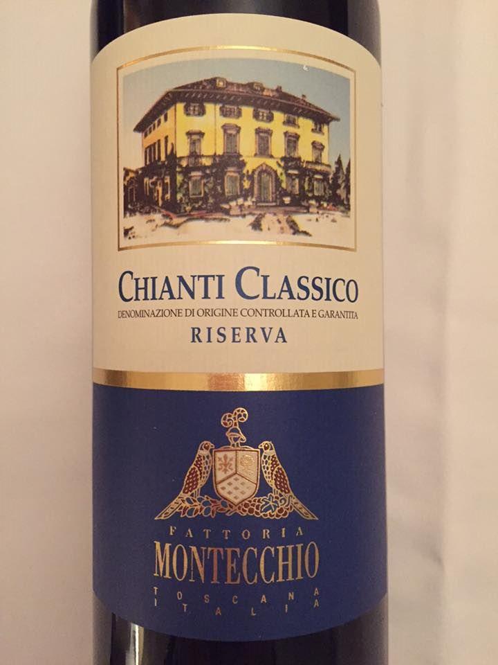 Fattoria Montecchio 2013 – Chianti Classico Riserva