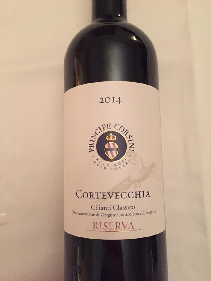 Principe Corsini – Cortevecchia 2014 – Chianti Classico Riserva