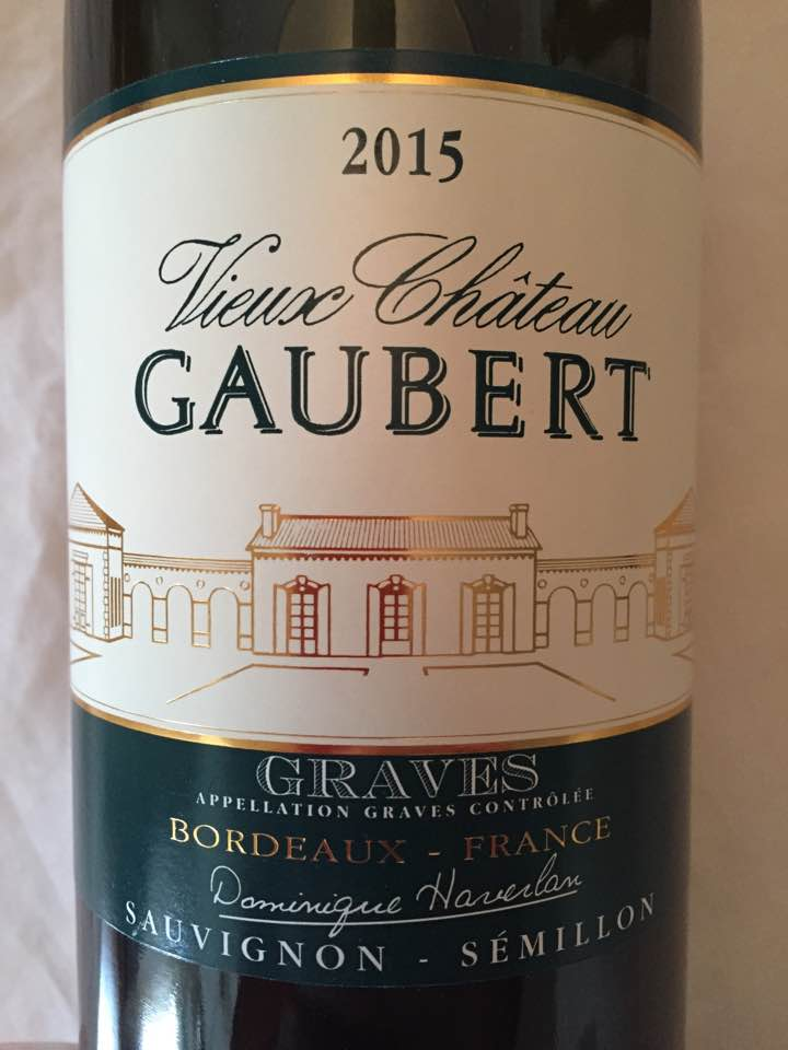 Vieux Châteaux Gaubert 2015 – Graves