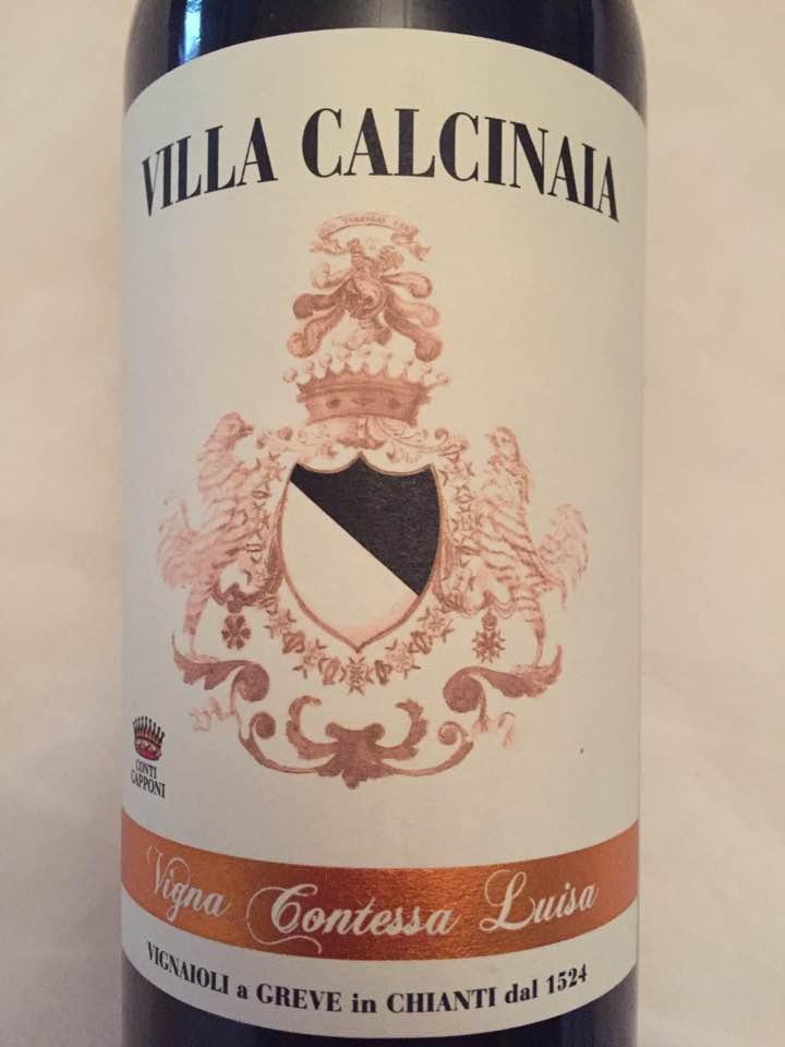Villa Calcinaia – Vigna Contessa Luisa 2013 – Chianti Classico Gran Selezione