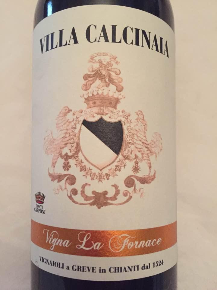 Villa Calcinaia – Vigna La Fornace 2013 – Chianti Classico Gran Selezione