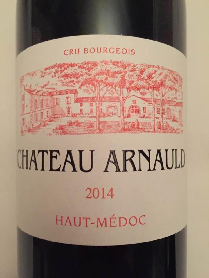 Château Arnauld 2014 – Haut-Médoc – Cru Bourgeois