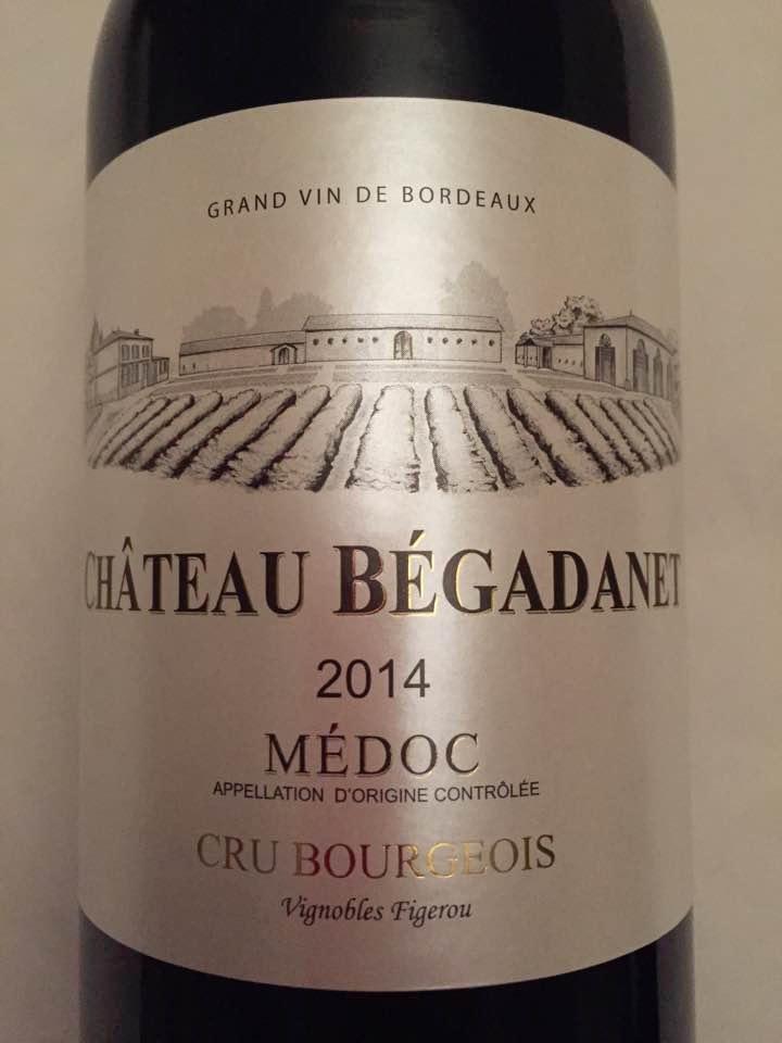 Château Bégadanet 2014 – Médoc – Cru Bourgeois