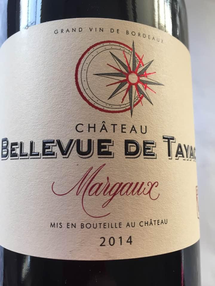 Château Bellevue de Tayac 2014 – Margaux– Cru Bourgeois
