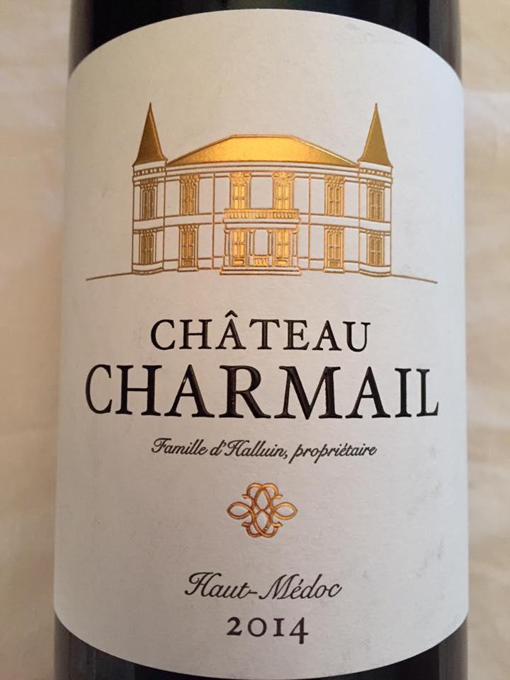 Château Charmail 2014 – Haut-Médoc – Cru Bourgeois