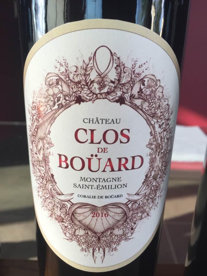 Château Clos de Bouard 2016