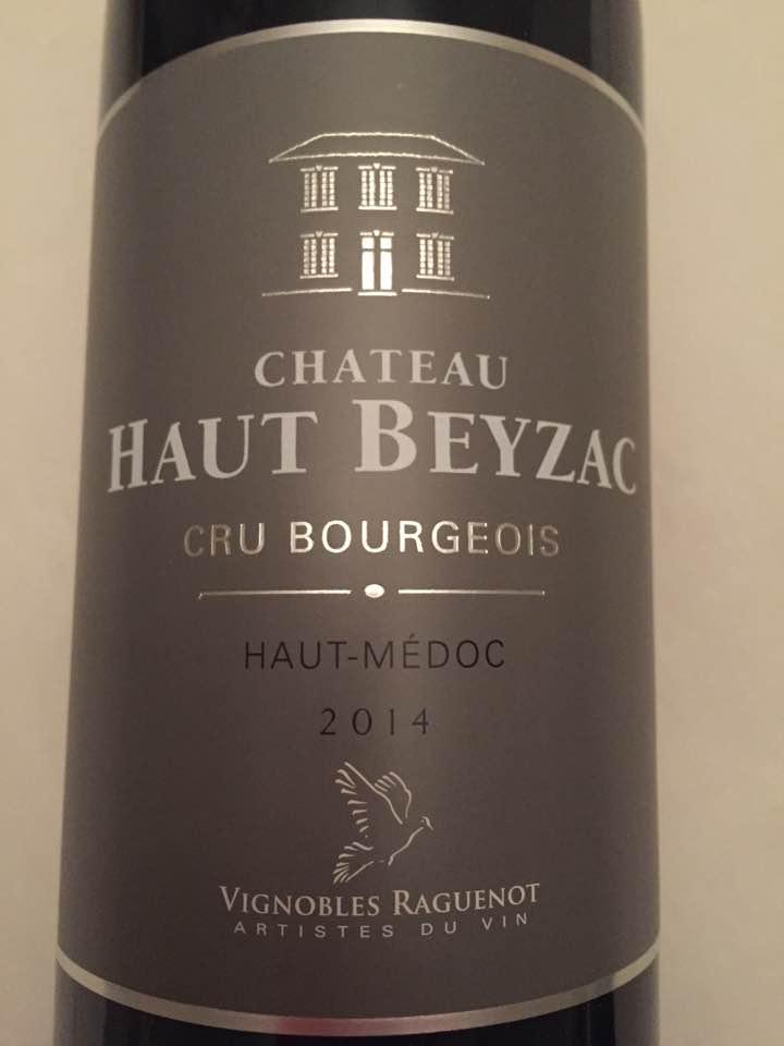Château Haut Beyzac 2014 – Haut-Médoc – Cru Bourgeois