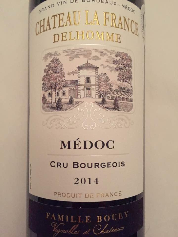 Château La France Delhomme 2014 – Médoc – Cru Bourgeois