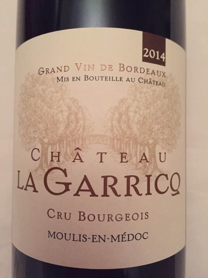 Château La Garricq 2014 – Moulis-en-Médoc – Cru Bourgeois