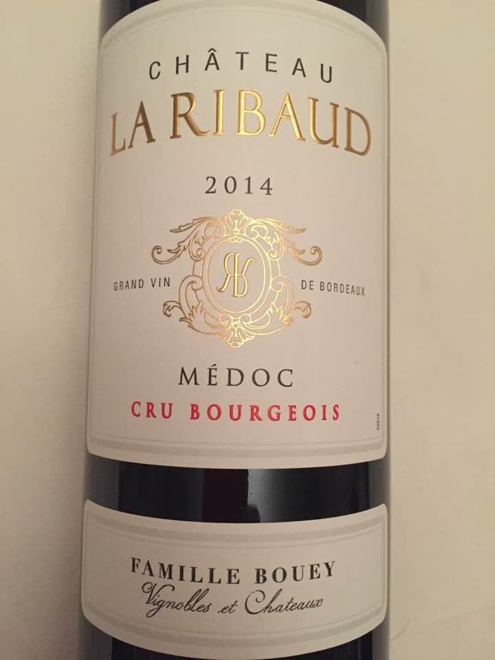 Château La Ribaud 2014 – Médoc – Cru Bourgeois