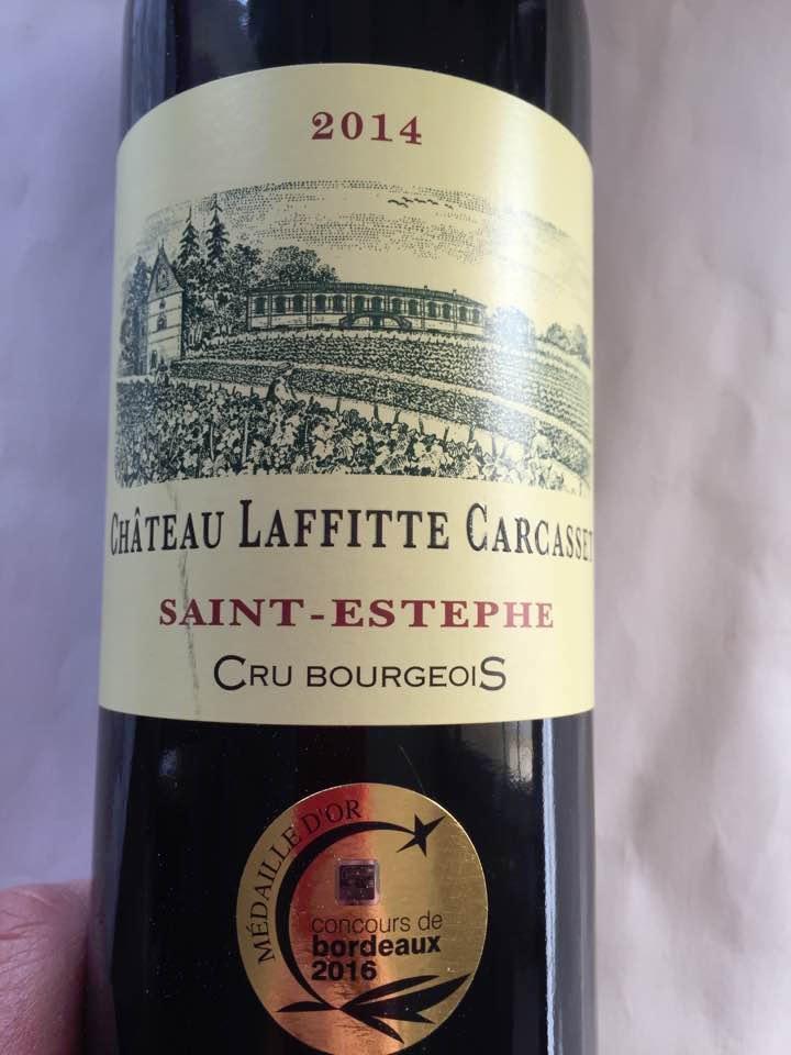 Château Laffitte Carcasset 2014 – Saint-Estèphe – Cru Bourgeois