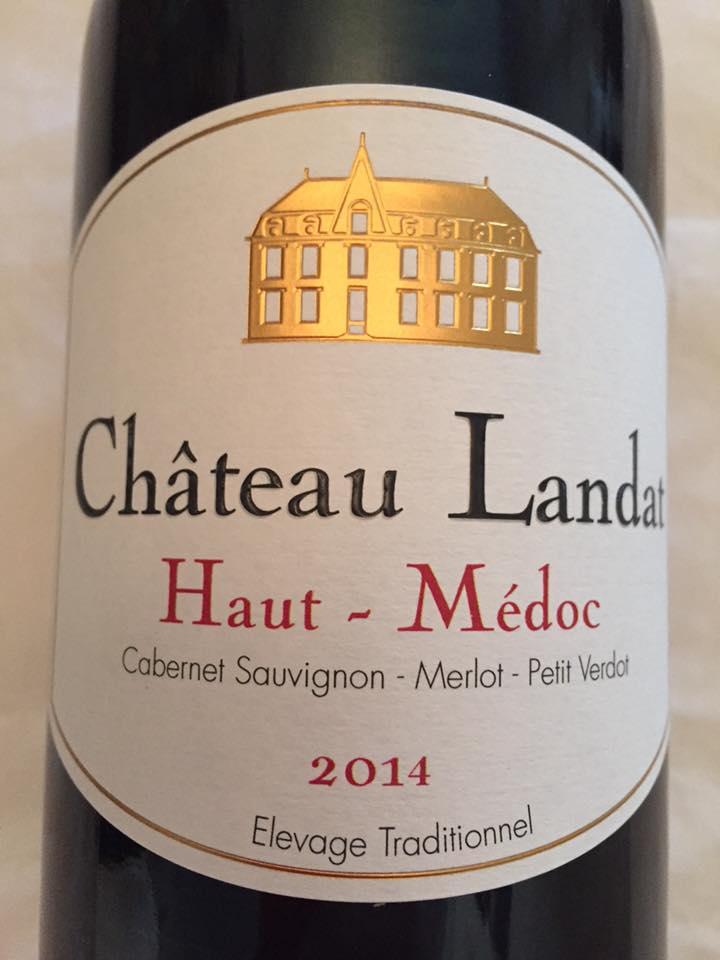 Château Landat 2014 – Haut-Médoc – Cru Bourgeois