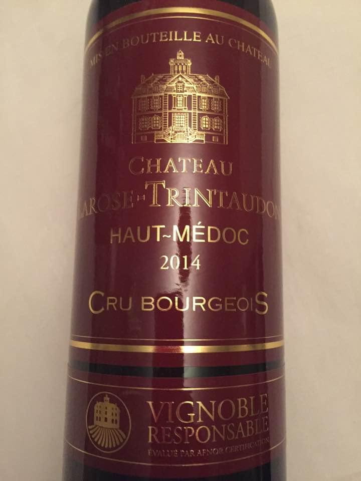 Château Larose Trintaudon 2014 – Haut-Médoc – Cru Bourgeois