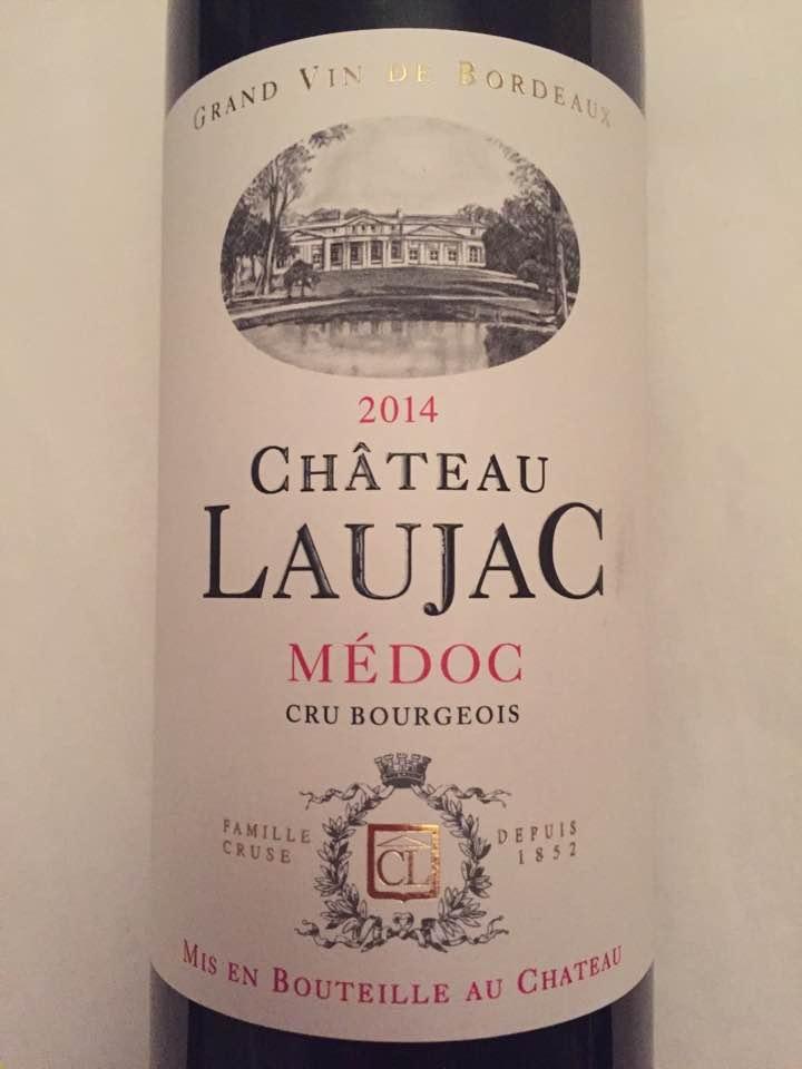 Château Laujac 2014 – Médoc – Cru Bourgeois