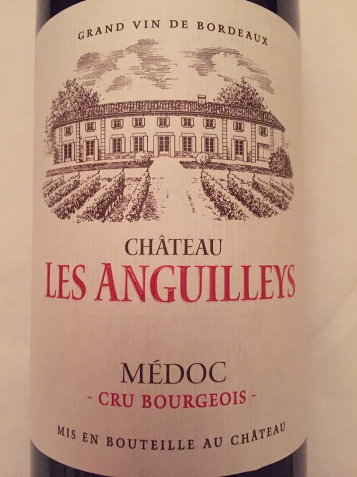 Château Les Anguilleys 2014 – Médoc – Cru Bourgeois