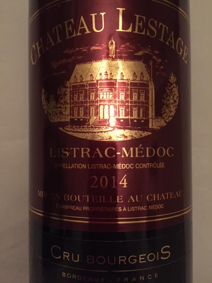 Château Lestage 2014 – Listrac-Médoc – Cru Bourgeois