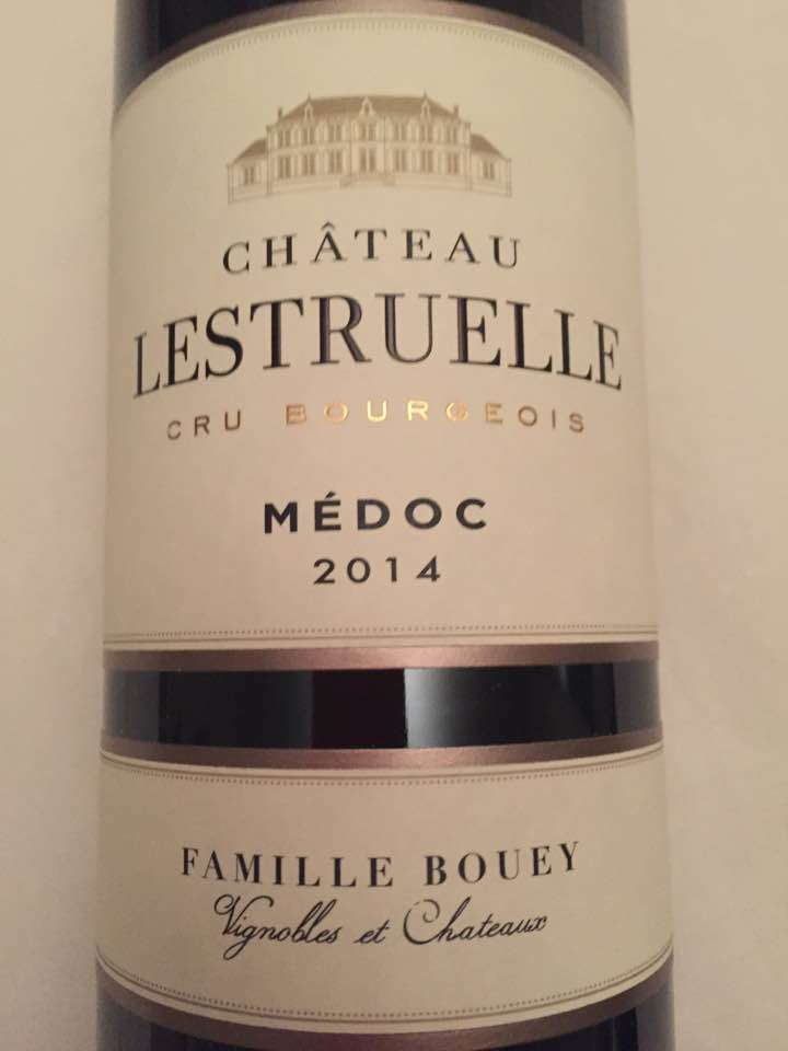 Château Lestruelle 2014 – Médoc – Cru Bourgeois
