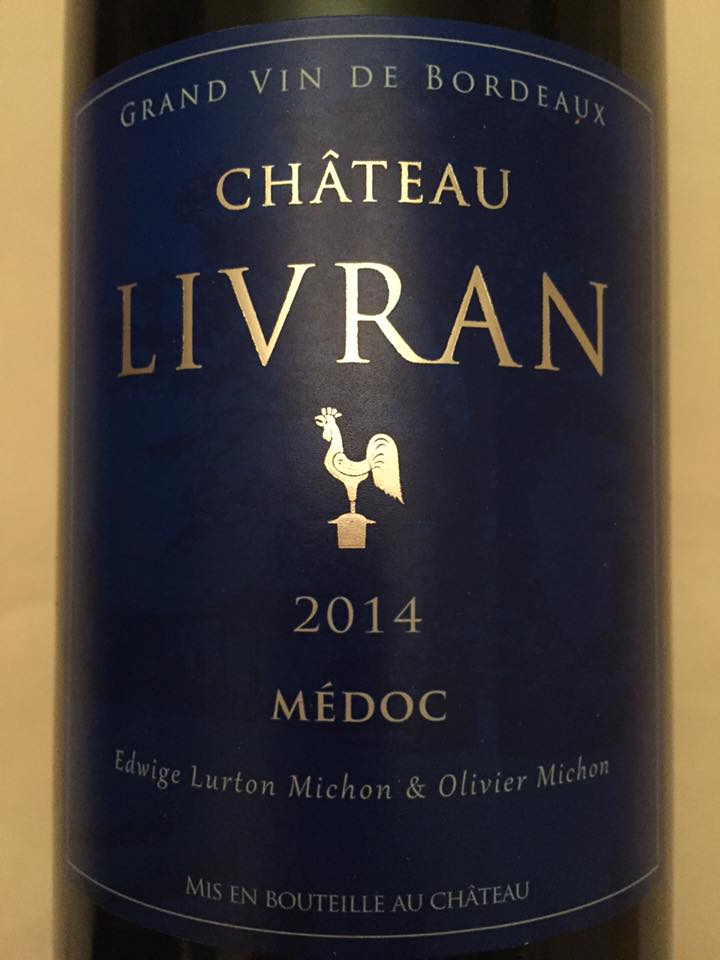 Château Livran 2014 – Médoc – Cru Bourgeois