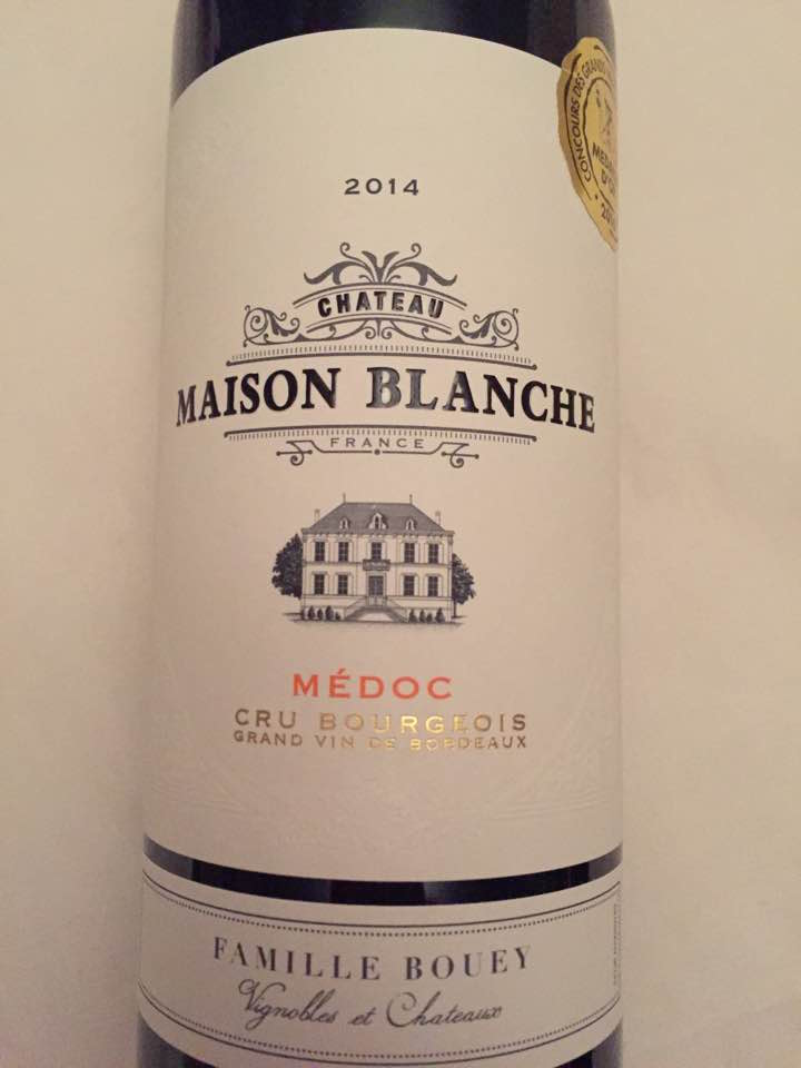 Château Maison Blanche 2014 – Médoc – Cru Bourgeois