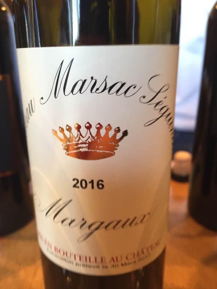 Château Marsac-Séguineau 2016 – Margaux