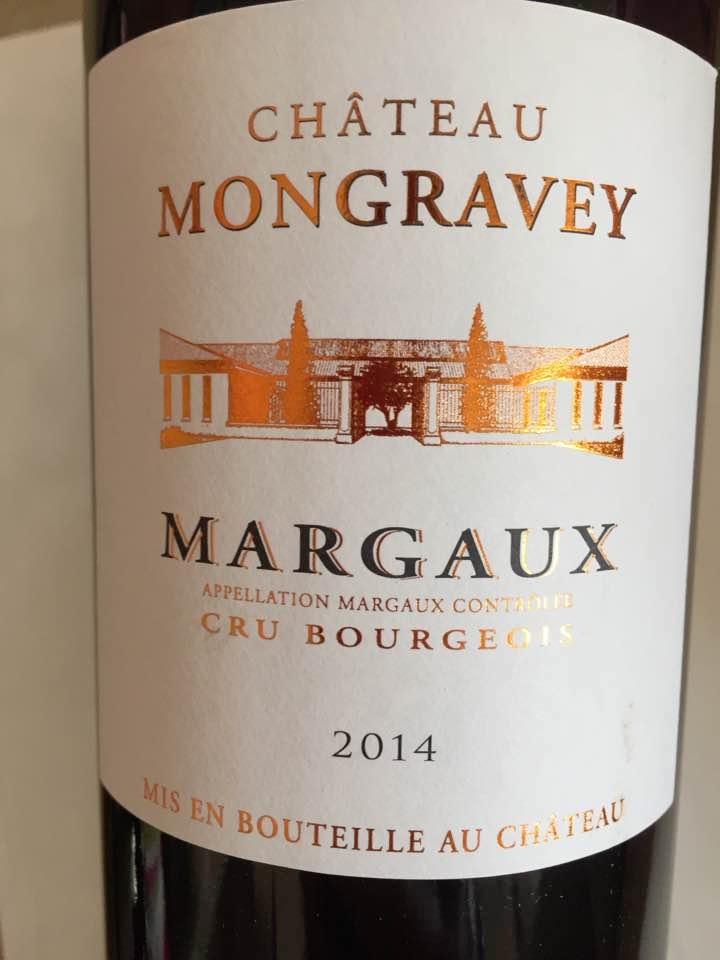 Château Mongravey 2014 – Margaux– Cru Bourgeois