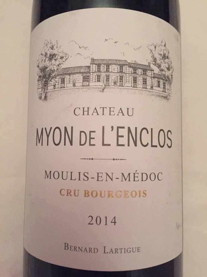 Château Myon de l'Enclos 2014 – Moulis-en-Médoc – Cru Bourgeois