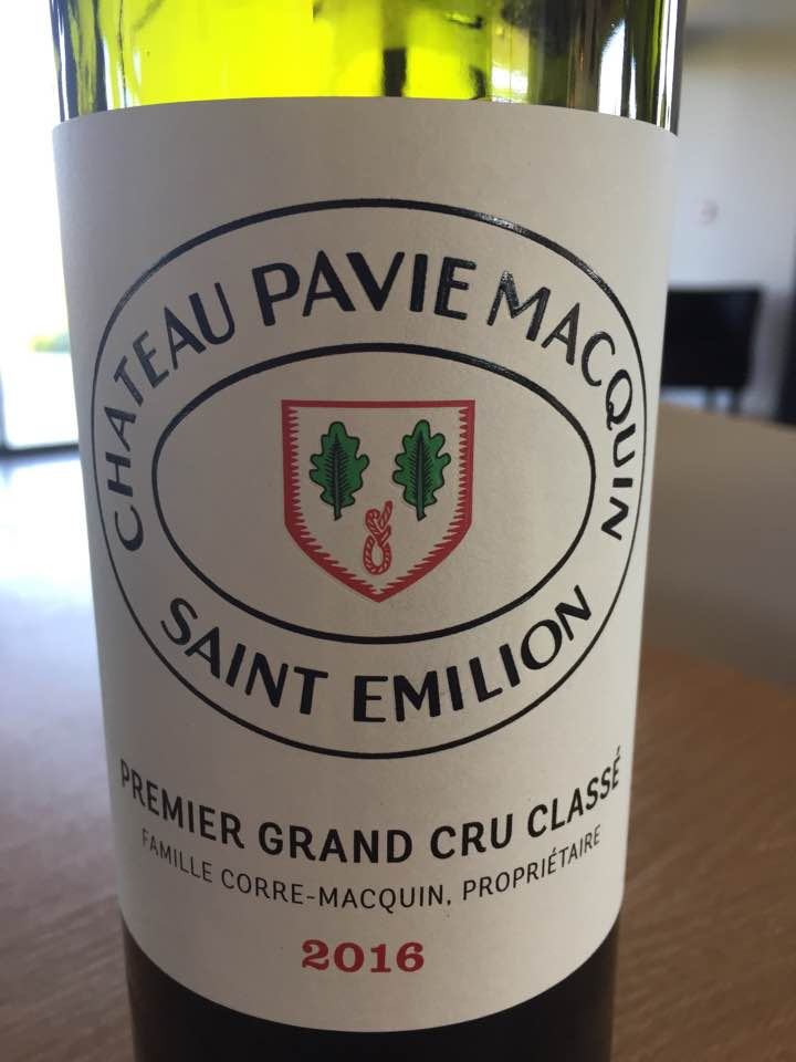 Château Pavie Macquin 2016 – Saint-Emilion Grand Cru, 1er Grand Cru Classé