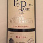 Château Pey de Pont 2014 – Médoc – Cru Bourgeois