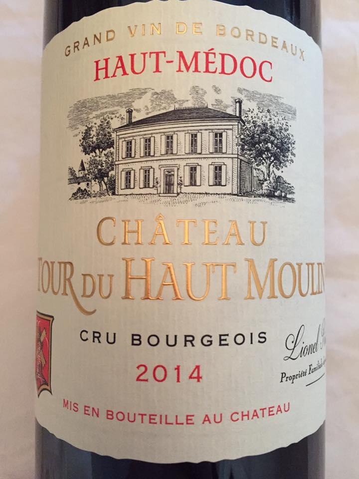 Château Tour du Haut Moulin 2014 – Haut-Médoc – Cru Bourgeois