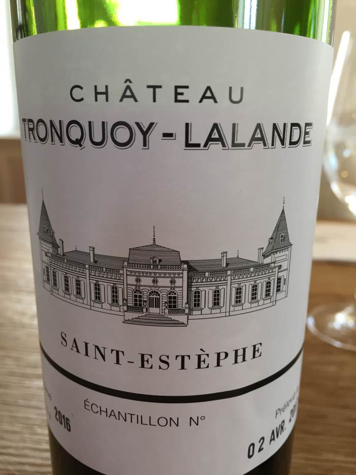 Château Tronquoy-Lalande 2016 – Saint-Estèphe