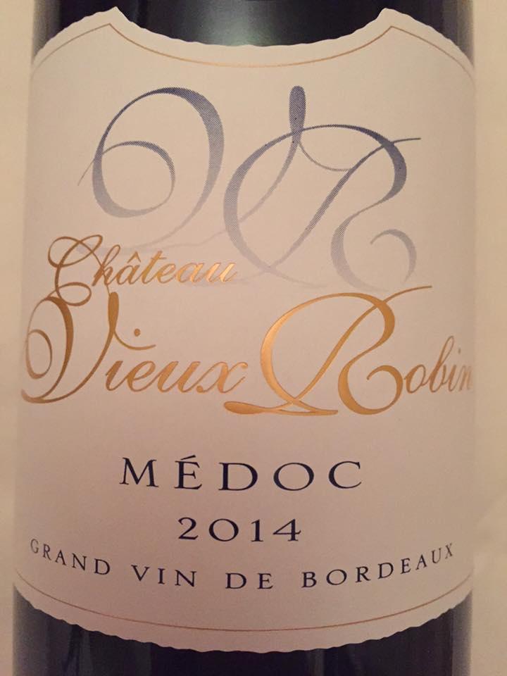 Château Vieux Robin 2014 – Médoc – Cru Bourgeois